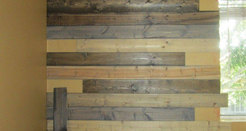 Cheap Faux Reclaimed Wood Paneling Project Sewn