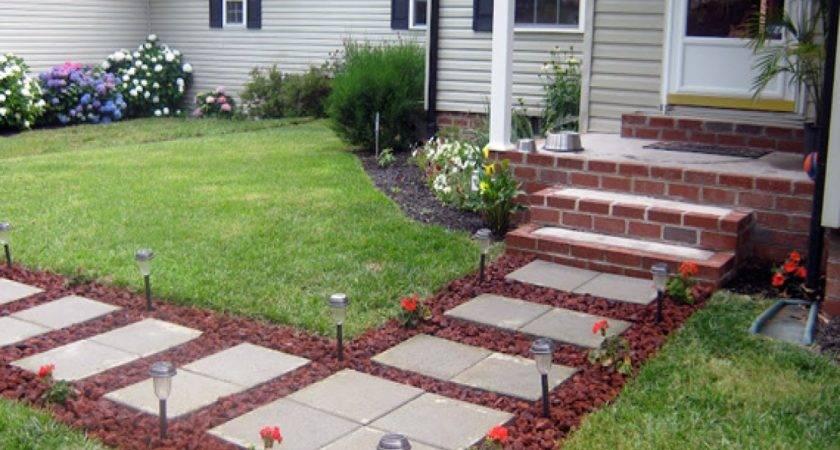 Cheap Paving Stones Paver Front Porch Ideas Yard