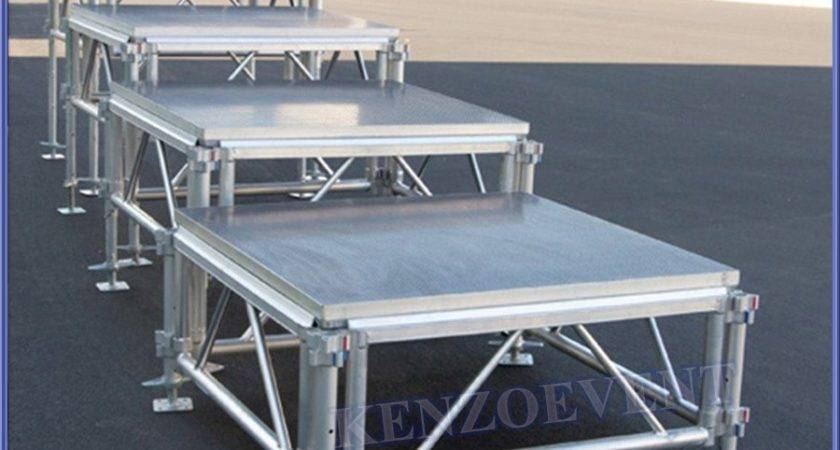 Cheap Portable Stage Aluminum Adjustable Removable