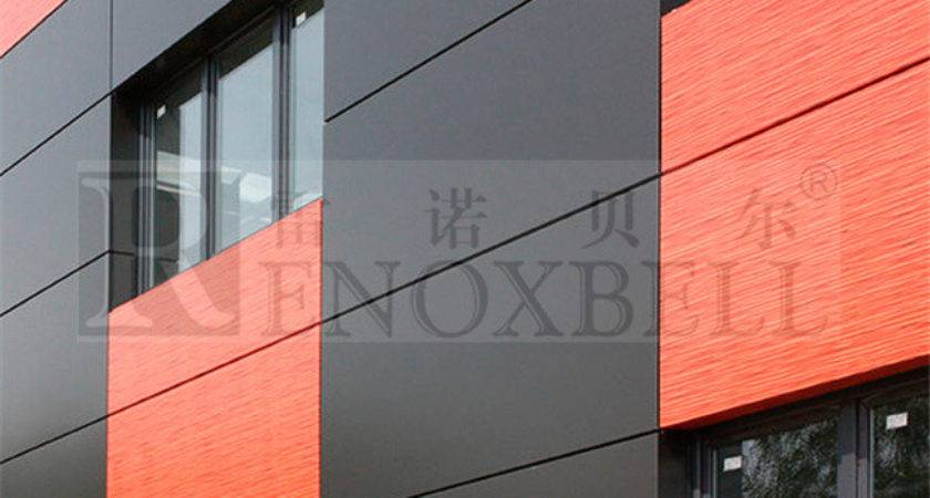 China Rockwool Insulated Aluminum Wall Panels Exterior