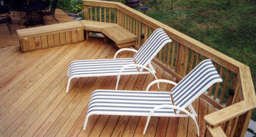 Choices Your Wood Deck Introduction Suburban