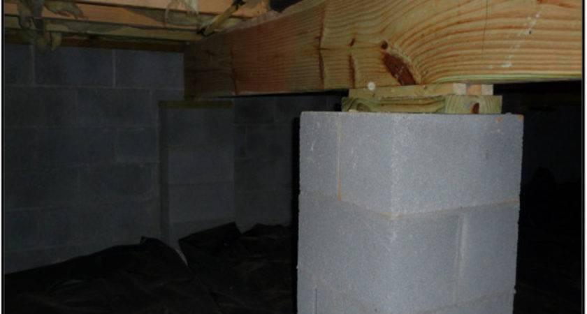 Cmu Block Piers Brackett Foundation Repairs
