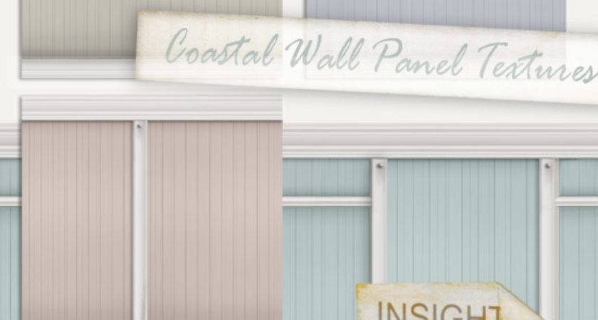 Coastal Painted Wood Wall Panel Textures Insight Designs