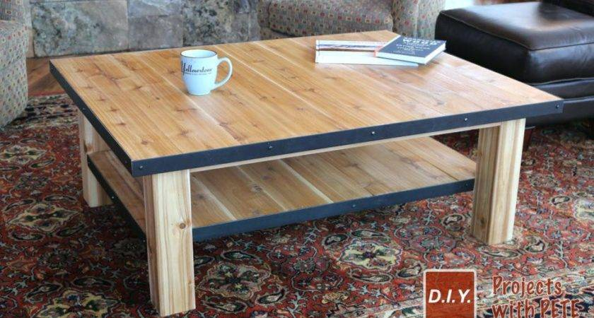 Coffee Table Make Out Pallets Book