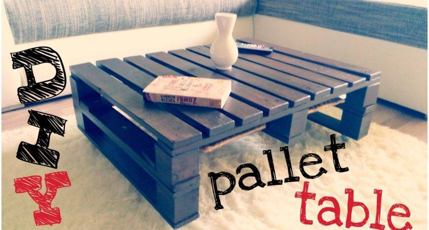 Coffee Table Make Out Pallets