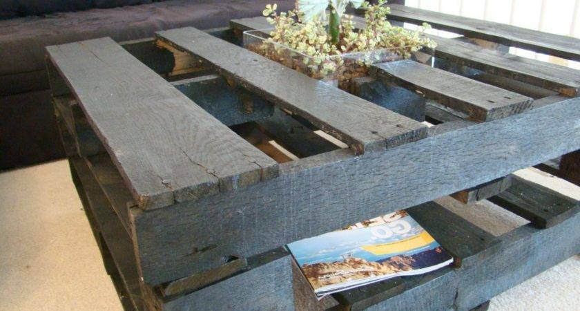 Coffee Tables Made Out Pallets Make