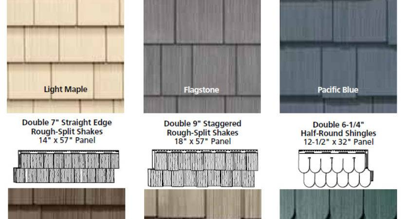 Come Our Vinyl Shake Siding Looks Just Like Cedar