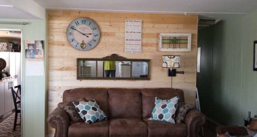 Complete Mobile Home Transformation Spectacular Shiplap