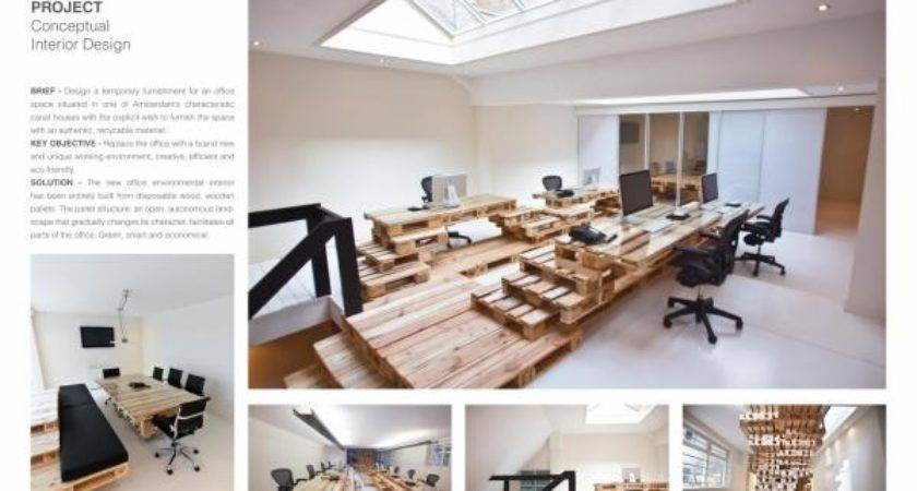 Conceptual Interior Design Brandbase Pallet Project