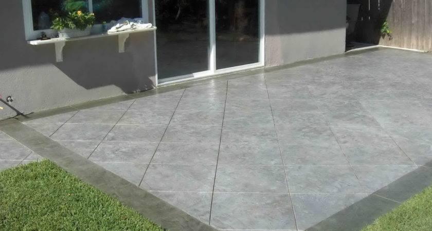 Concrete Back Porch Ideas Home Design