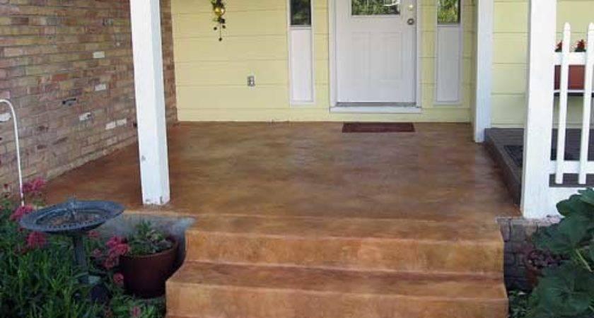 Concrete Floor Stain Flooring Staining