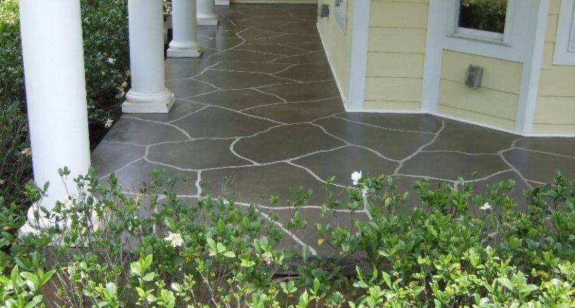 Concrete Front Porch Ideas Joy Studio Design