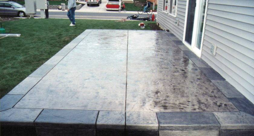 Concrete Patio Designs Newsonair