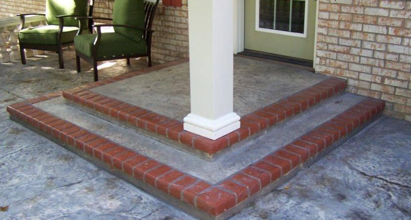 Concrete Porch Makeover Ideas Joy Studio Design