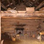 Conner Prairie Log Cabin Interior Wikimedia Commons