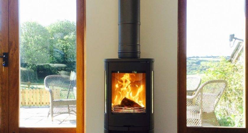 Contura Between Two Doors Wood Burning Stove