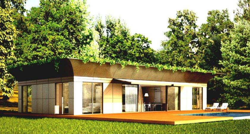 Cool Modular Home Design Harmony Nature Ivy Roof