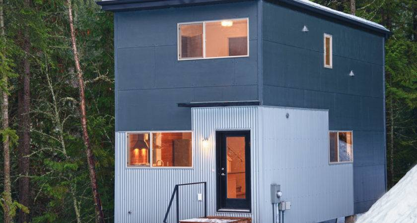Cool Two Bedroom House Prefab Home Modern