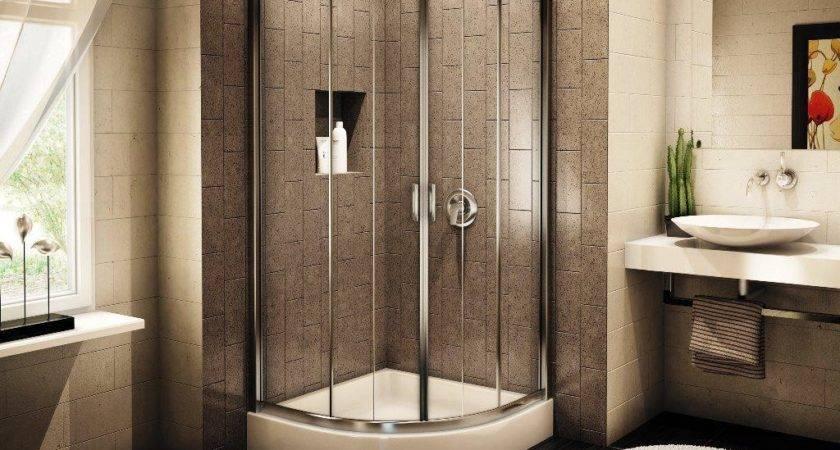 Corner Shower Stalls Modern Appearance Homy
