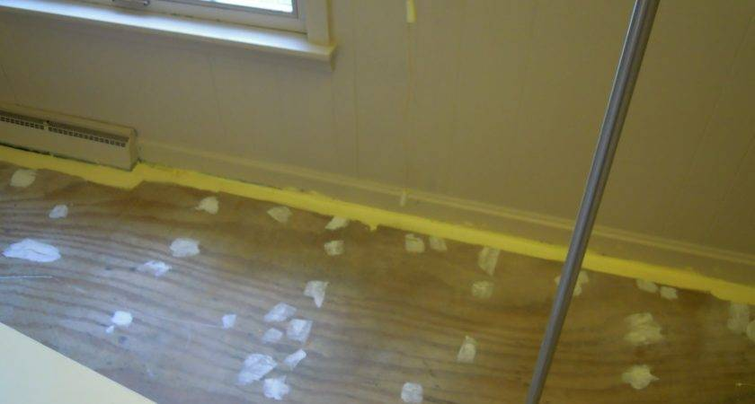 Cottage Haven Painting Wood Subfloor