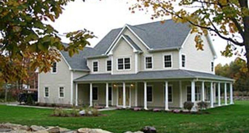 Country House Floor Plans Porches Designs