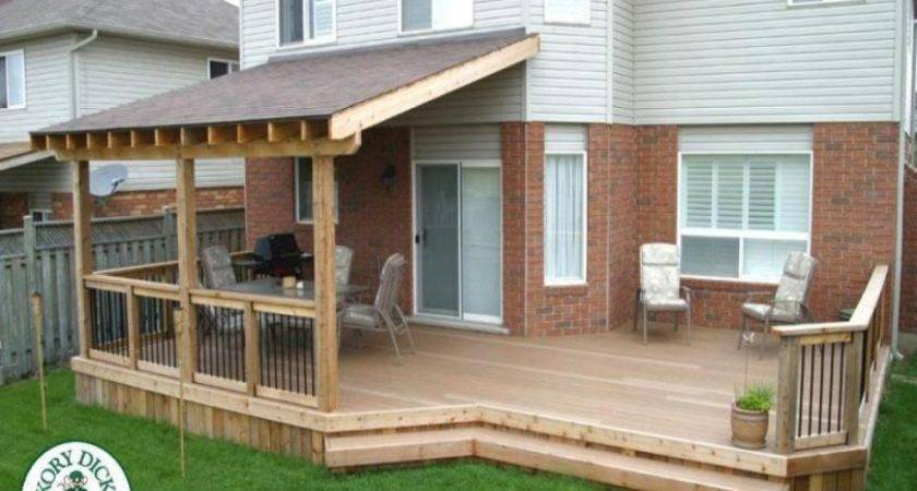 Covered Decks Latest Outdoor Fireplace Austin