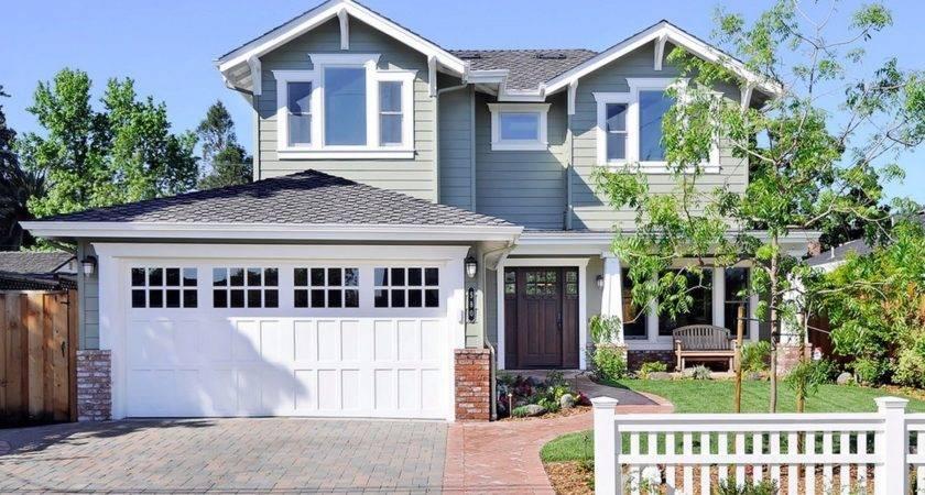 Craftsman Garage Door House Colors