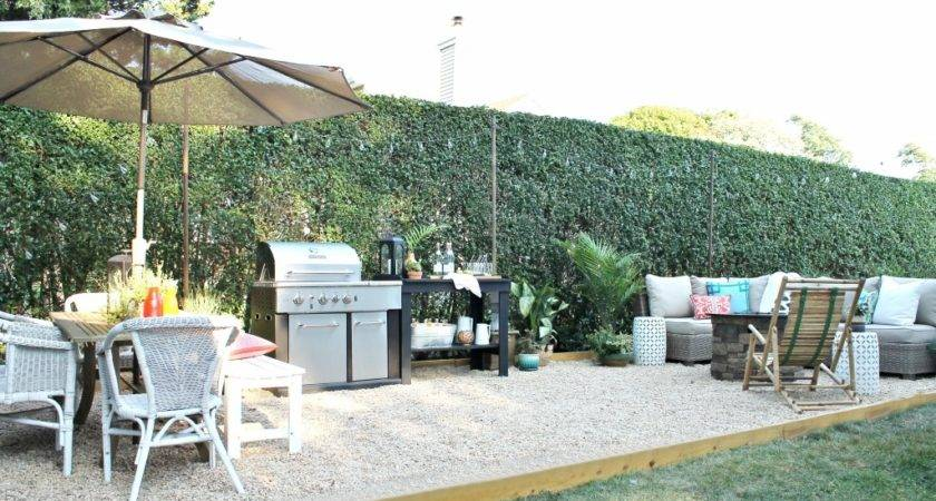 Create Diy Pea Gravel Patio Easy Way City Farmhouse