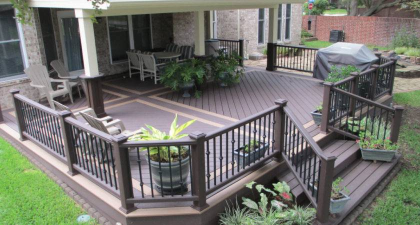 Creation Decks Patios Idea Gardens Home Ideas