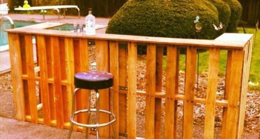 Creative Diy Outdoor Pallet Bar Ideas Pallets Designs