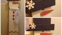 Creative Fun Diy Snowman Decorations