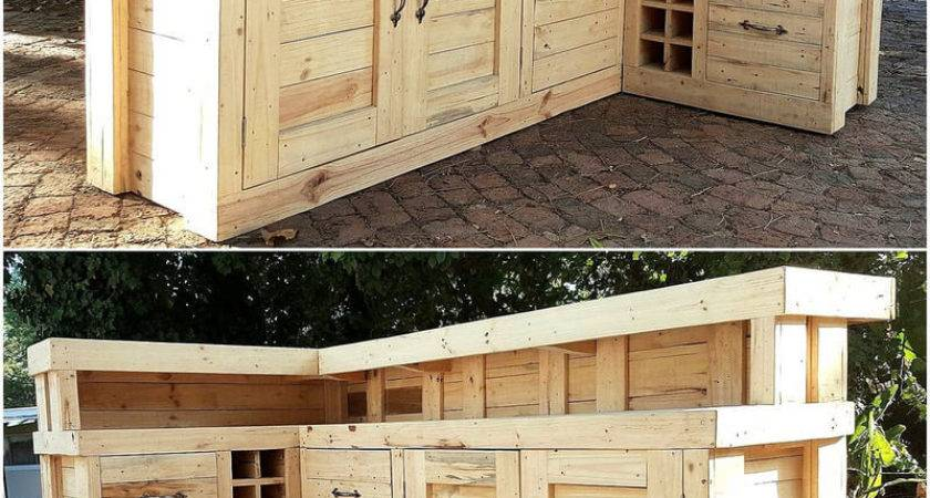 Creative Ideas Recycled Shipping Wood Pallets