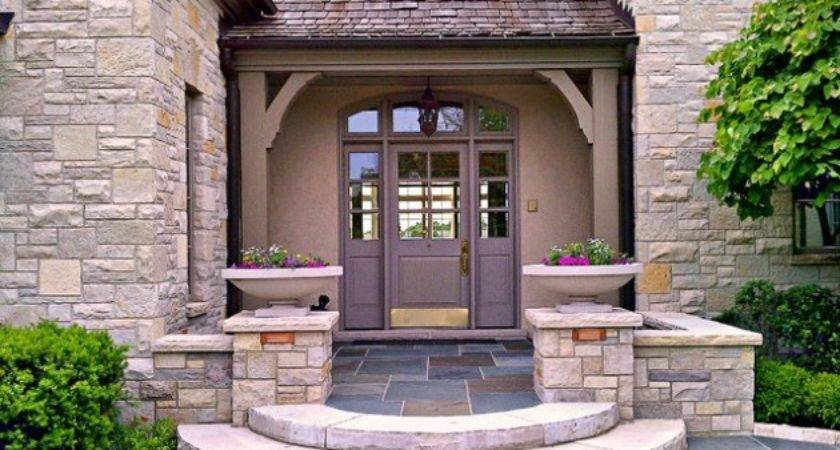 Creative Ideas Traditional Outdoor Front Steps