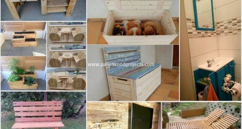 Creative Ideas Wooden Pallet Recycling Wood