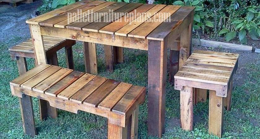 Creative Pallets Diy Pallet Furniture Plans