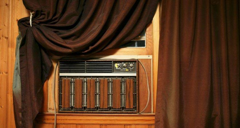 Creative Ways Cover Air Conditioners Wall Ehow