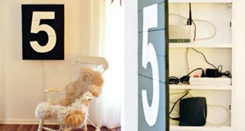 Creative Ways Hide Eyesores Holes Your Walls