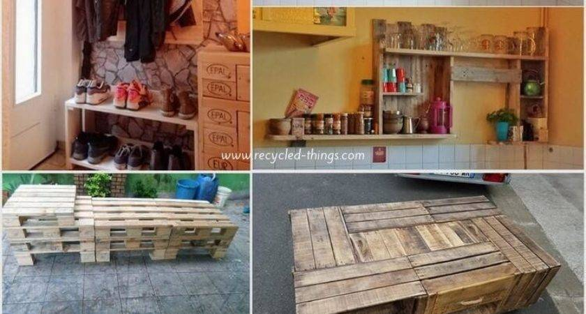 Creative Ways Recycle Wood Pallets Into Useful Things