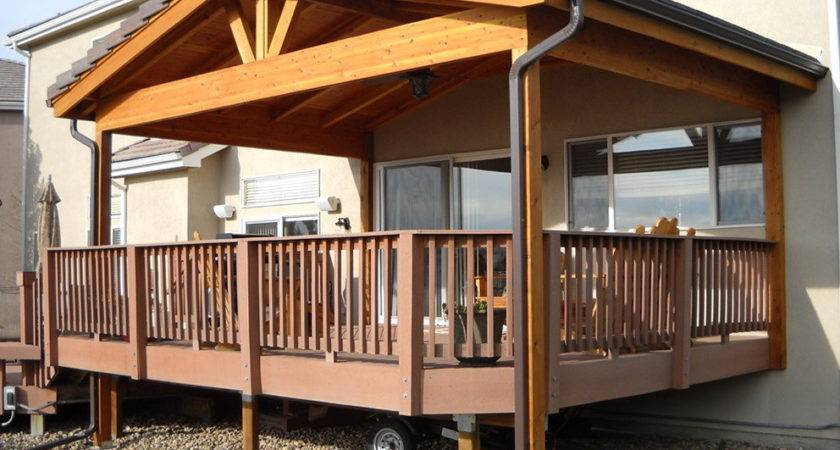 Creative Your Deck Roof Carehomedecor