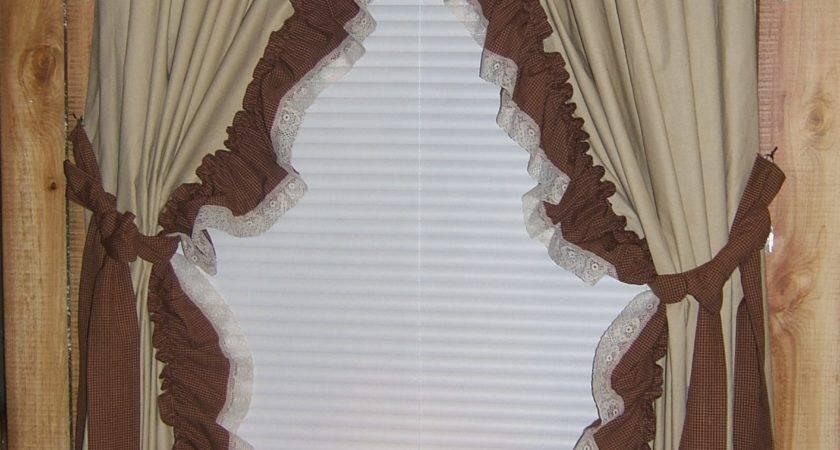 Curtain Dazzling Primitive Curtains Living Room
