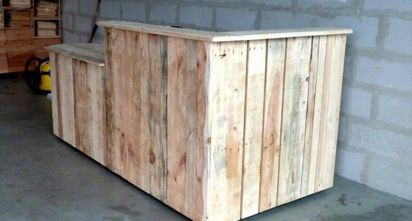 Custom Build Pallet Bar Furniture Plans