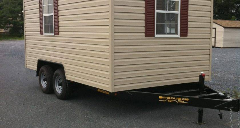 Custom Built Mobile Trailer Shed Foxscountrysheds Blog