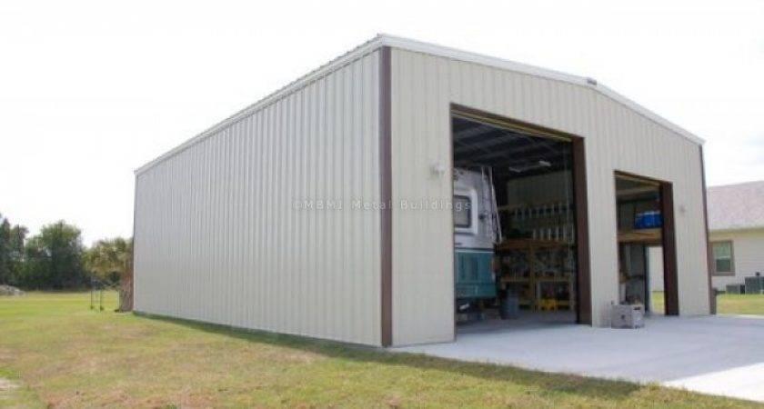 Custom Prefabricated Steel Boat Storage Large