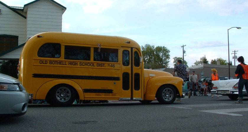 Custom School Bus Bing