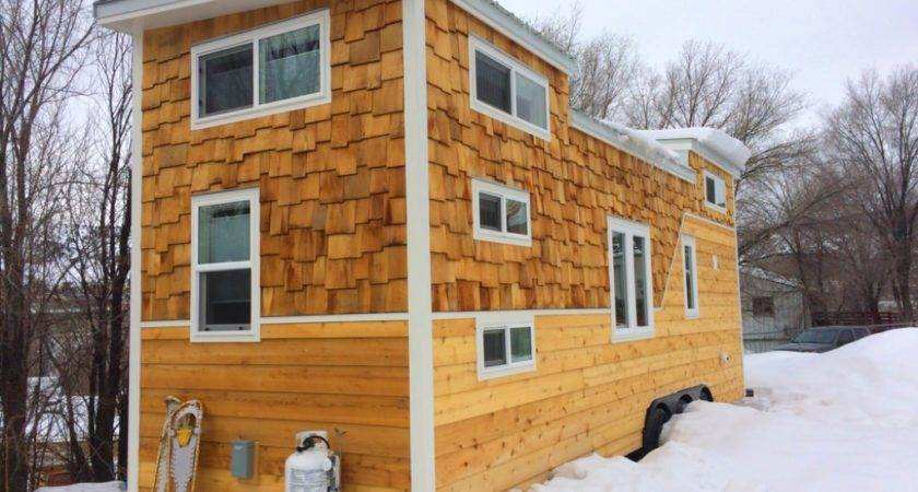 Custom Two Story Tiny House Trailer Tedx Designs