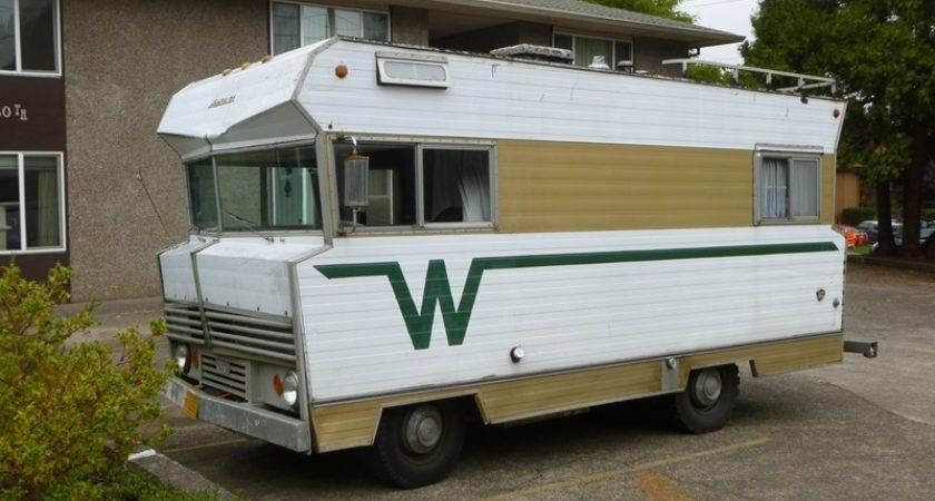 Customized Vintage Winnebago Motorhome Pin