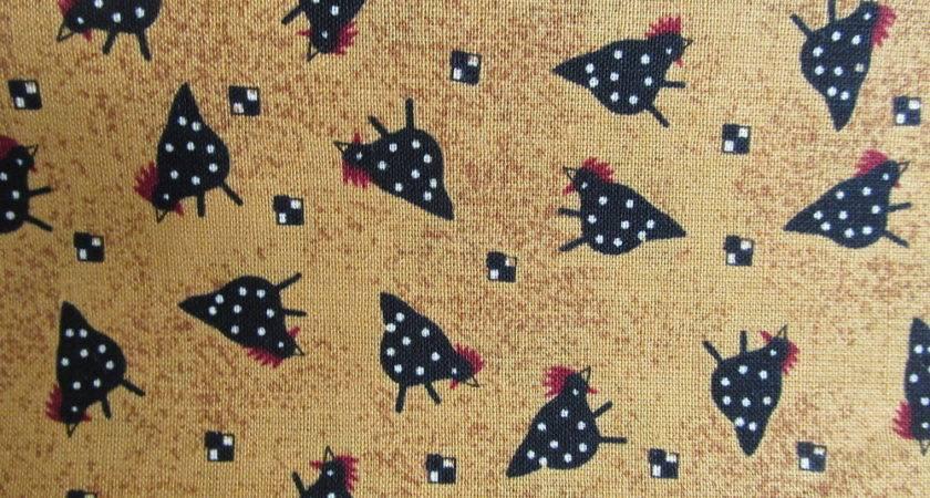 Debbie Mumm Country Primitive Chicken Toss Cotton Fabric