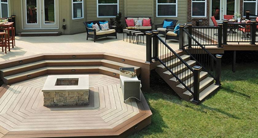 Deck Backyard Decks Cost Home Homelk