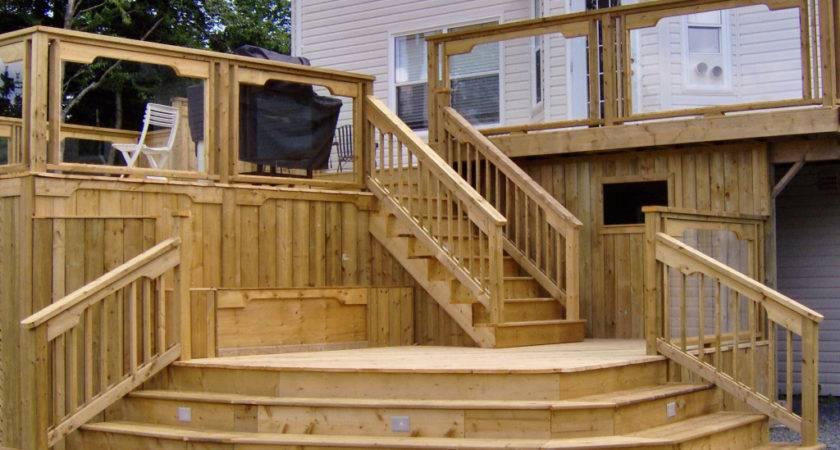 Deck Design Lowes Designer Decks Backyard Ideas