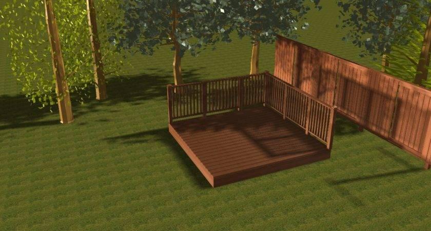 Deck Kit Hardwood Balau Garden Patio